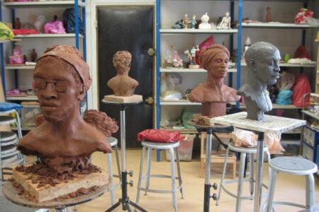 Un atelier de modelage où s'exprimer sans sacrifier la technique