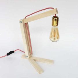 Lampe pliante (kit électrique +18€)