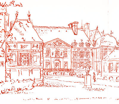 dessin de chateau