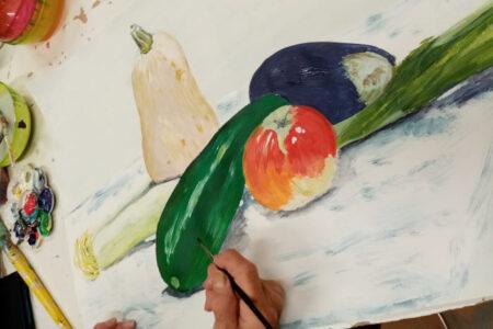 Un atelier de dessin et peinture où s'exprimer sans sacrifier la technique